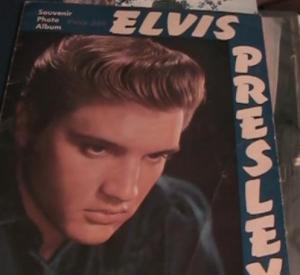 Elvis tour book cover