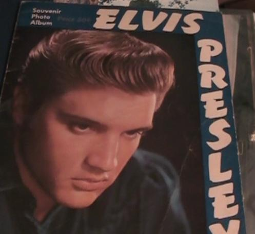 Elvis tour book cover