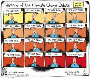 "A brief history of the climate change ""debate,"" by Tom Toles: http://truth-out.org/art/item/20449-climate-change-debate"