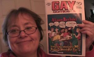 Nina and Gay Comics 19 Alison Bechdel