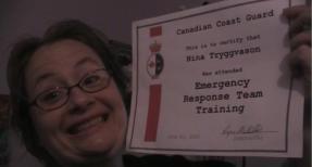 Nina Coast Guard Certification