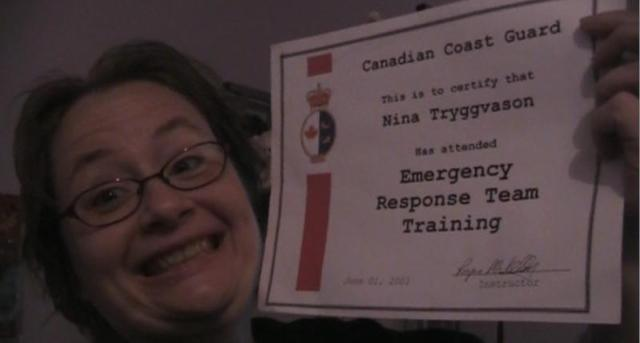Nina Coast Guard Certification