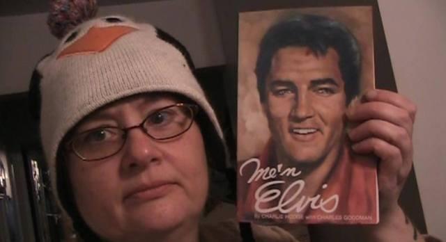 Nina with Me n Elvis by Charlie Hodge
