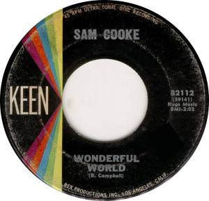 Sam Cooke a wonderful world