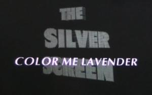 The Silver Screen Colour Me Lavender