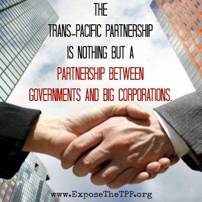 Trans Pacific Partnership is no deal