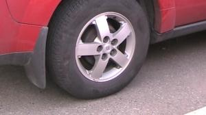 Vue regular tire