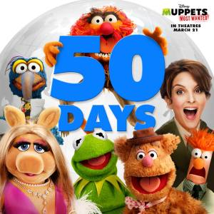 50 days to muppet movie