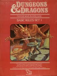 D&D 1st ed