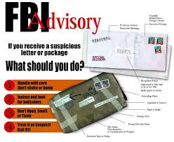 FBI letter or package
