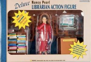 Nancy Pearl Libarian Inaction Figure