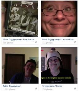 Nina selfie albums