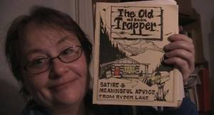 Nina with The Old Trapper