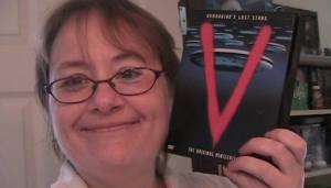 Nina with V the miniseries
