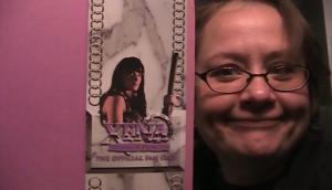Nina with Xena fan kit