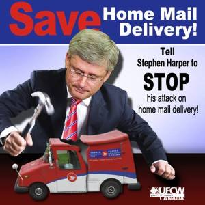 save canada post home delivery