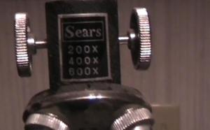 Sears microscope