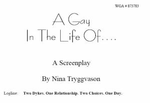 A Gay In the Life Of