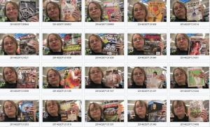 Nina Tryggvason grocery store selfies