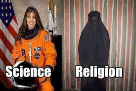 science v religion women divide