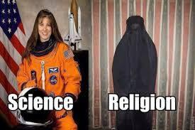 science v religion women divide