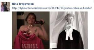 hoodie vs justice