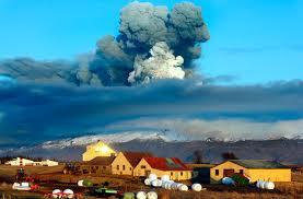 ash cloud over Iceland