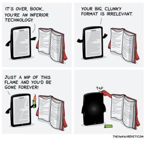 reading is an individual experience  and our brains process light reflected differently than a light source  are you a traditional bookie or do you prefer to read on electronic gadgets?