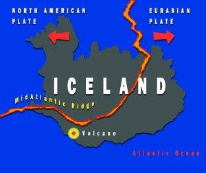 Iceland Mid Plateboundaries