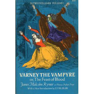 Varney vs Dracula -   The Penny Dreadful bypassed by the novel - but the Penny Dreadfuls set the tone for later American pulp fiction  thoughts on the technical publishing side over the ages to online delivery and freeing writer from publishers entirely?