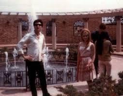 Elvis with Blonde Priscilla