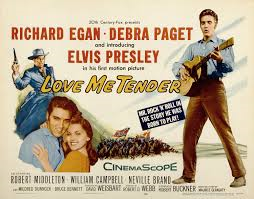 Love Me Tender Lobby Card