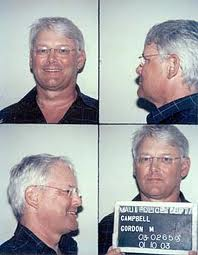 BC premier Gordon Campbell mug shots hawaii vacation