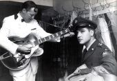 Bill Halley and Elvis Presley 2