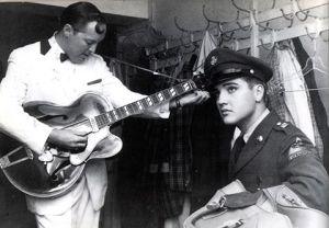 Bill Halley and Elvis Presley 2