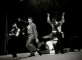 Elvis and the Blue Moon Boys - Bill Black is the forgotten part of the early act.