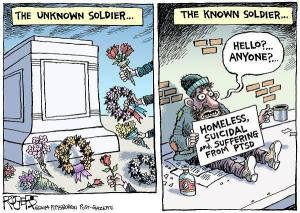 known vs unknown soldier