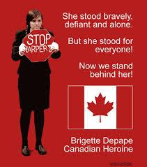Stop Harper Brigette Depape