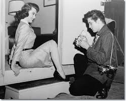 Elvis snaps Judy Tyler