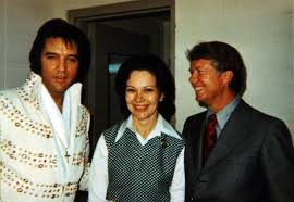 Elvis and Jimmy Carter