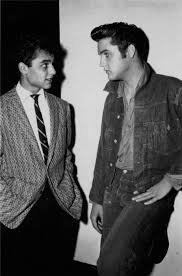 Sal Mineo visits Elvis on the Loving You Set