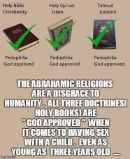 Abrahamic Pedophile Manuals