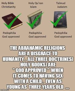 Abrahamic Pedophile Manuals