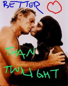 Ape Love Better than Twilight