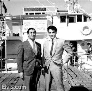 Elvis donates Potomac
