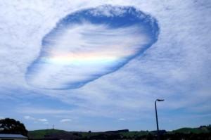 Rainbow hole cloud 1
