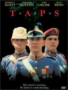 Taps movie poster