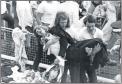 1974 Cassidy Fans stampede