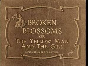 Broken Blossoms Title Card