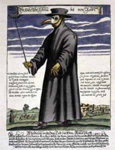 Plague Doctor via Wikimedia Commons